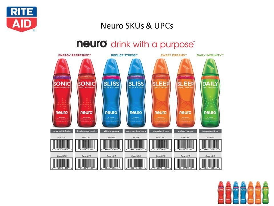 Neuro SKUs & UPCs 10