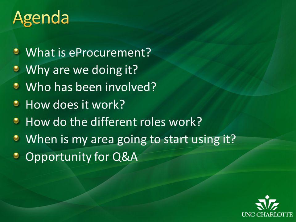 What is eProcurement.