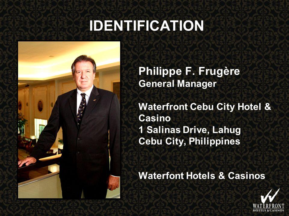 IDENTIFICATION Philippe F.