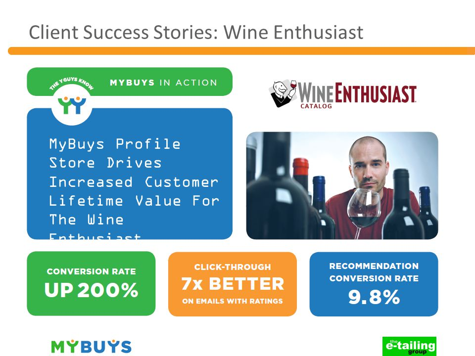 Client Success Stories: Wine Enthusiast MyBuys Profile Store Drives Increased Customer Lifetime Value For The Wine Enthusiast