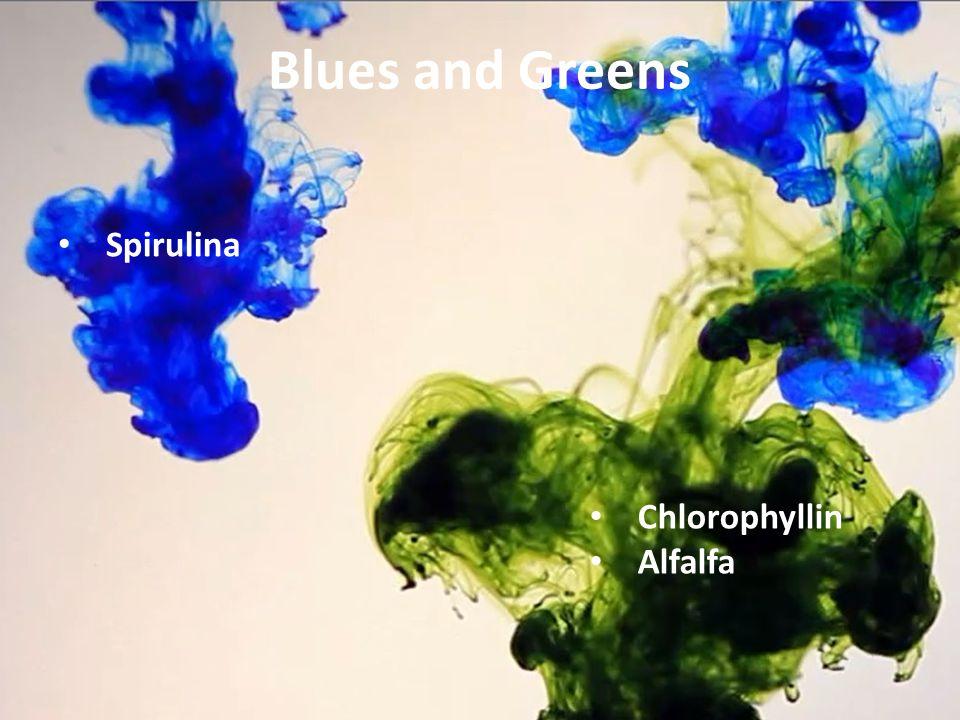 Blues and Greens Spirulina Chlorophyllin Alfalfa