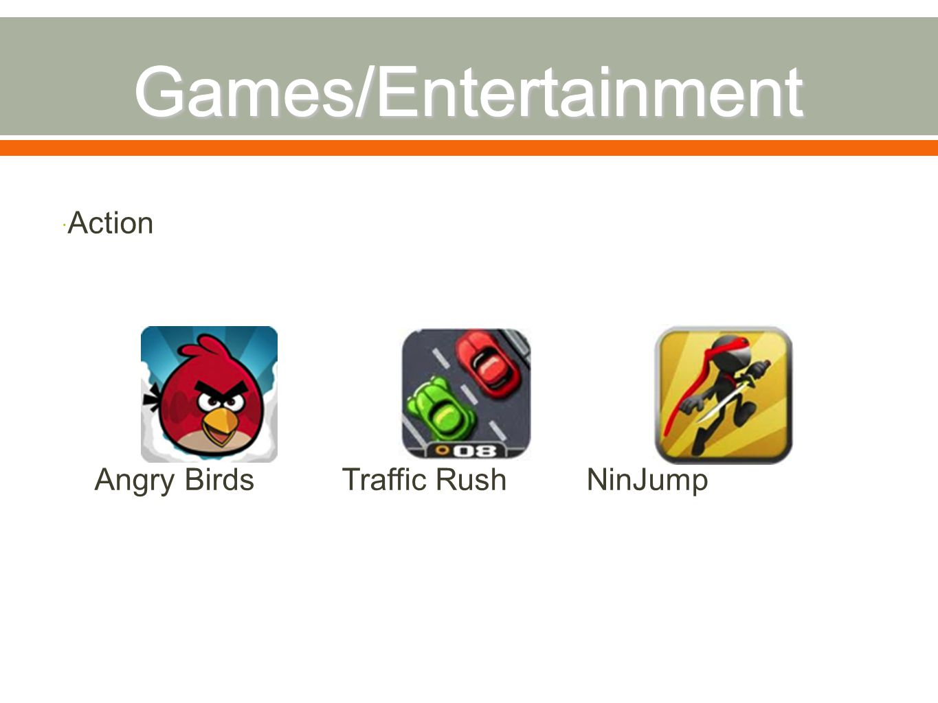  Action Angry Birds Traffic Rush NinJump