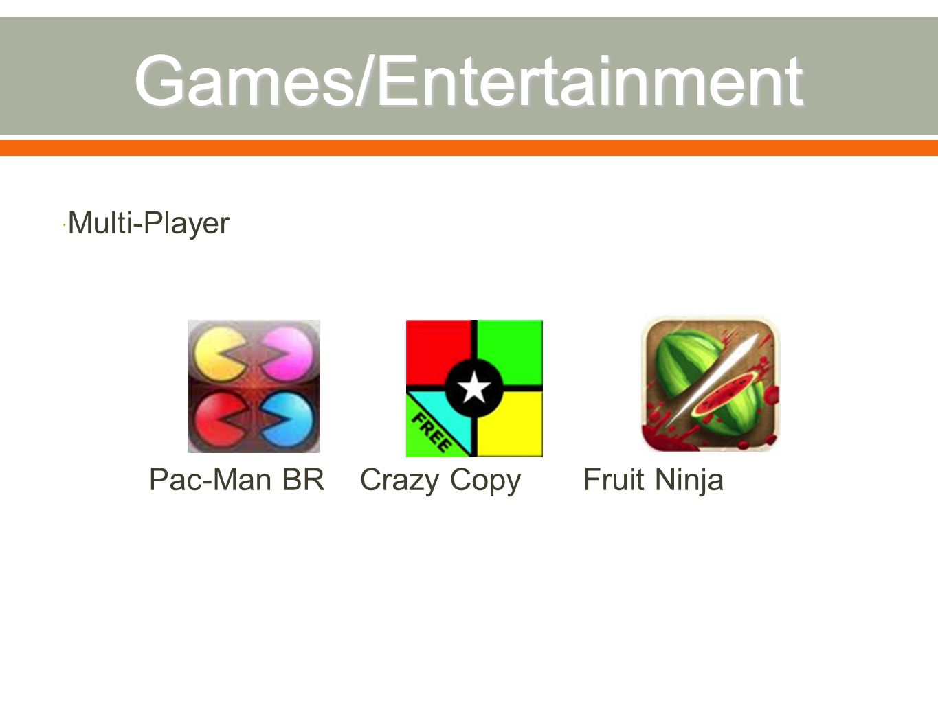  Multi-Player Pac-Man BR Crazy Copy Fruit Ninja