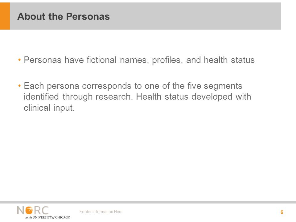 Two personas are likely to use online health and health care info.