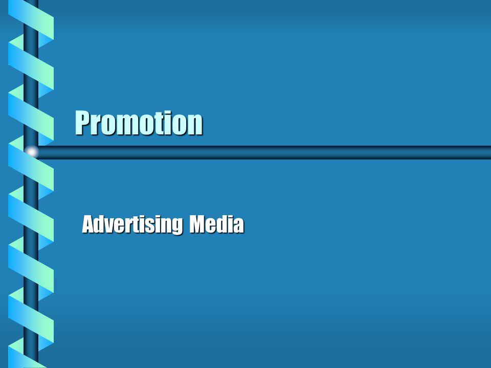 Promotion Advertising Media Advertising Media