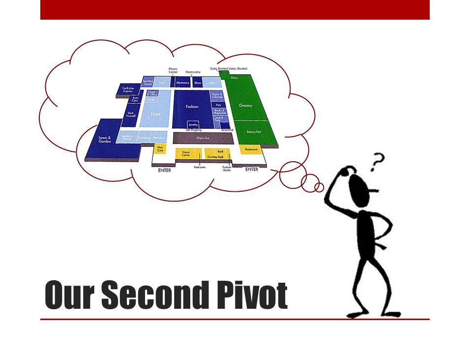 Our Second Pivot
