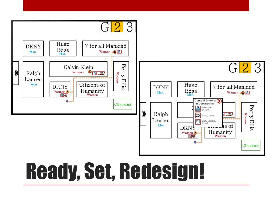 Ready, Set, Redesign!