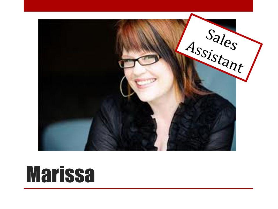 Marissa Sales Assistant