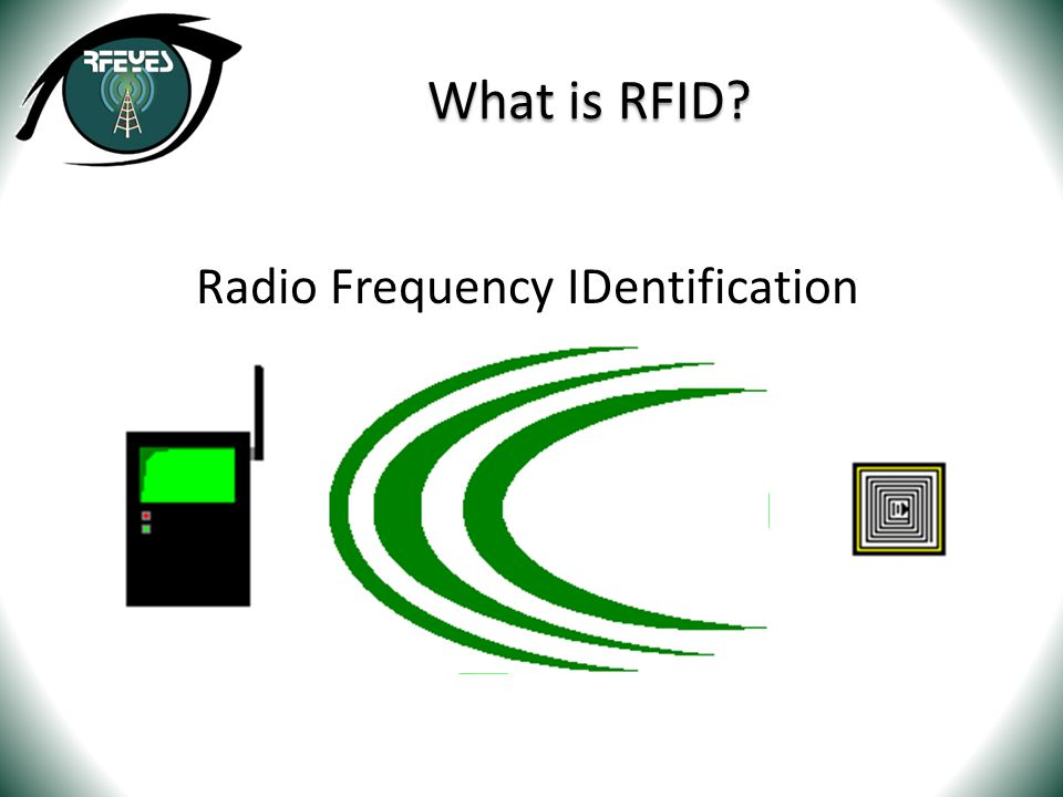Radio Frequency IDentification What is RFID?