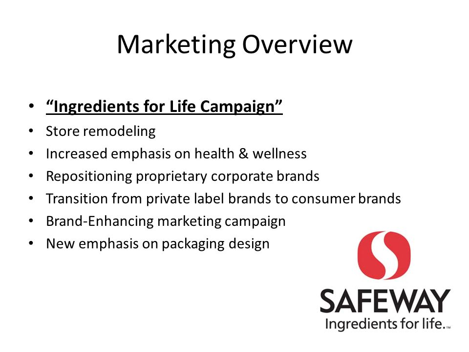 According to the numbers, Safeway seems to be financially sound in the food retail industry Industry is extremely competitive – Safeway has worked hard for its position and will have to continue to maintain superior performance Competitive Advantage: Financial Strength