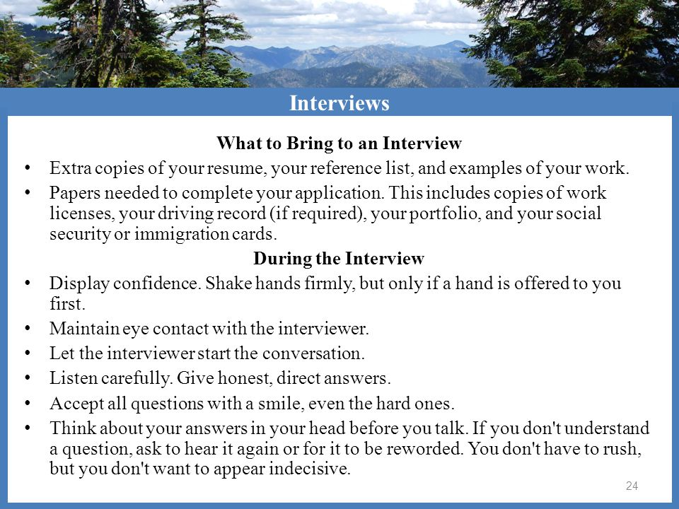 How will Google Docs help you.After the Interview Thank them for their time.