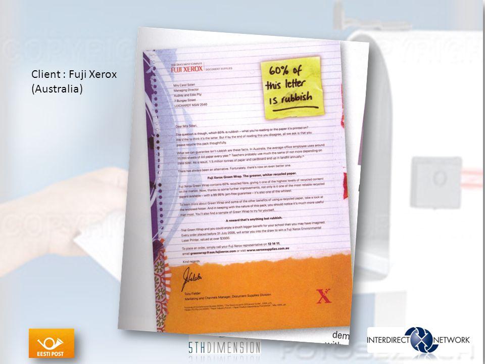 Client : Fuji Xerox (Australia)