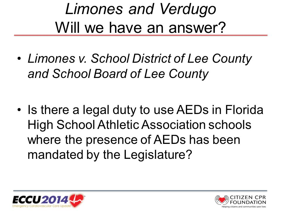 Limones and Verdugo Will we have an answer. Limones v.