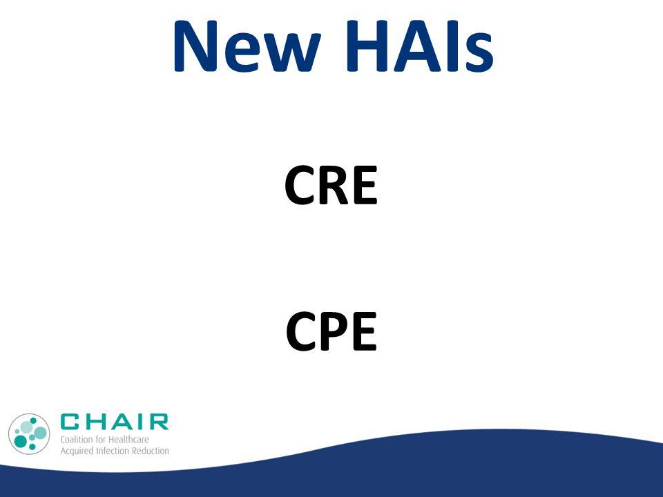 New HAIs CRE CPE