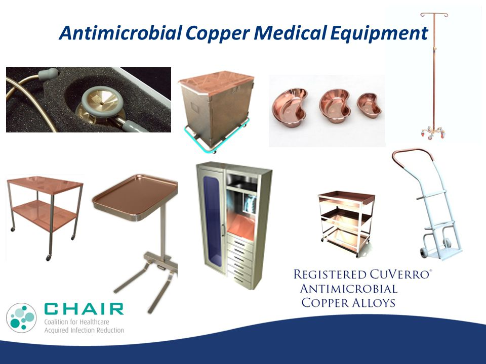 Antimicrobial Copper Medical Equipment