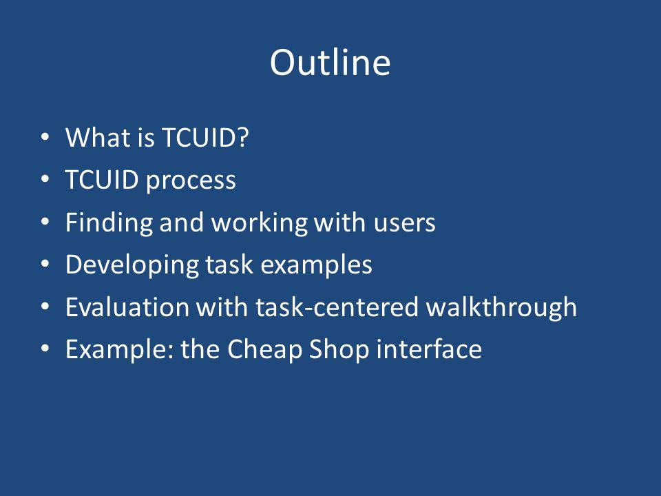 What is TCUID.