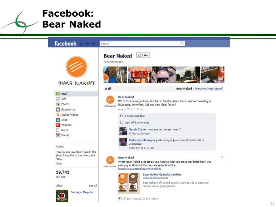 11 Facebook: Bear Naked