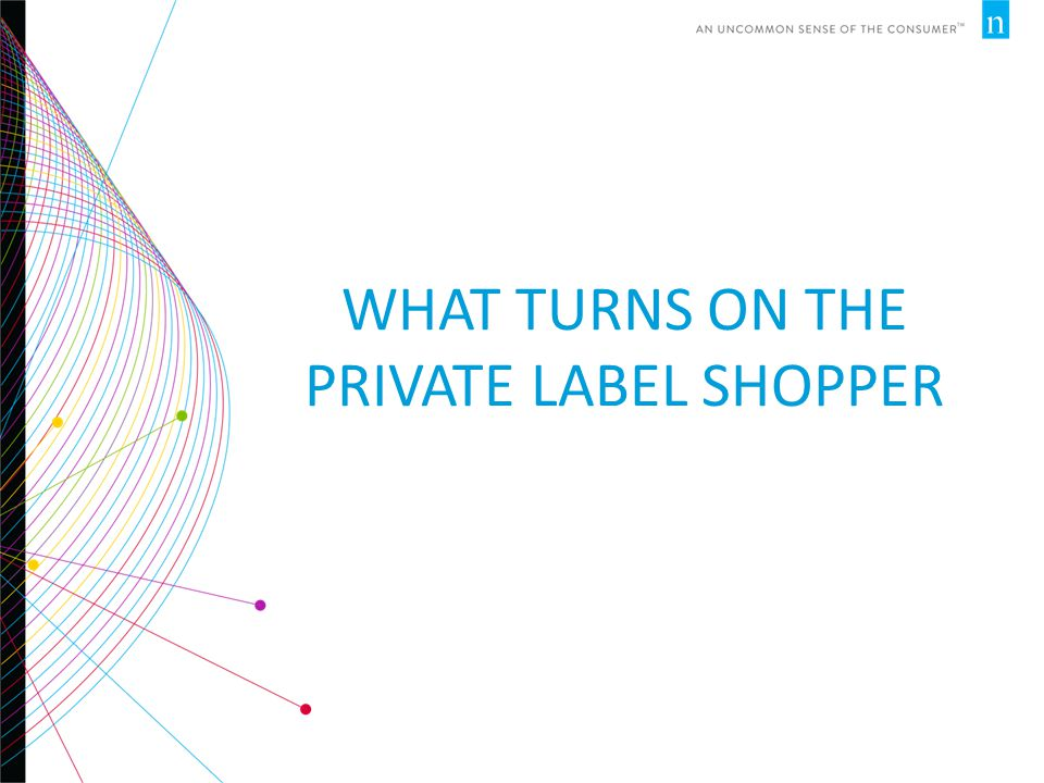 WHAT TURNS ON THE PRIVATE LABEL SHOPPER