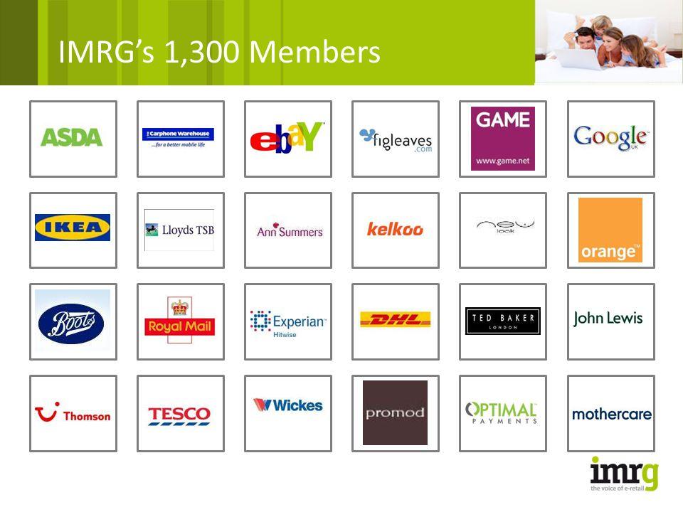 IMRG's 1,300 Members