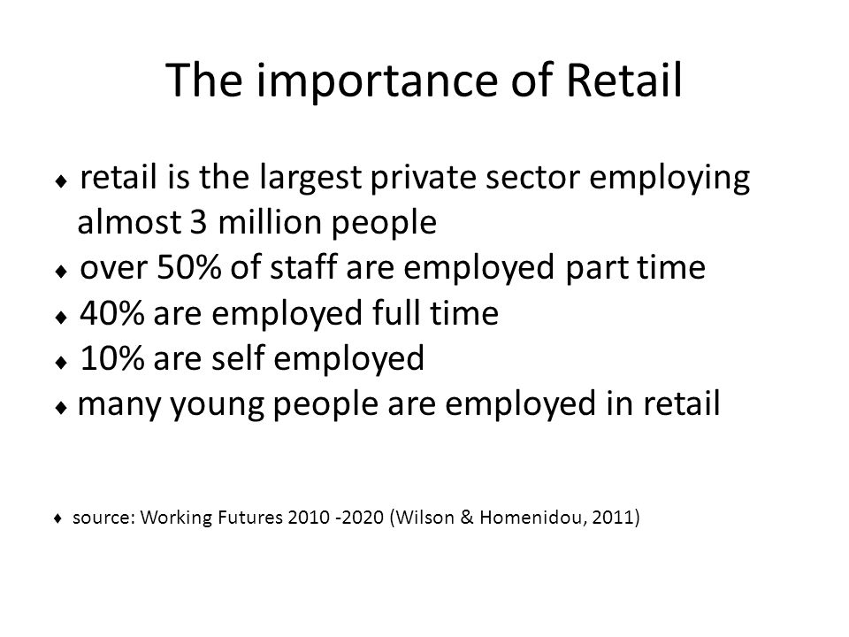 Working in Retail  shop assistant  customer services  merchandiser  stock controller  HR  finance  head office.