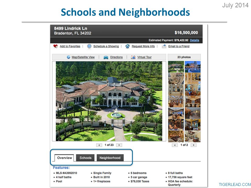 TIGERLEAD.COM Schools and Neighborhoods July 2014