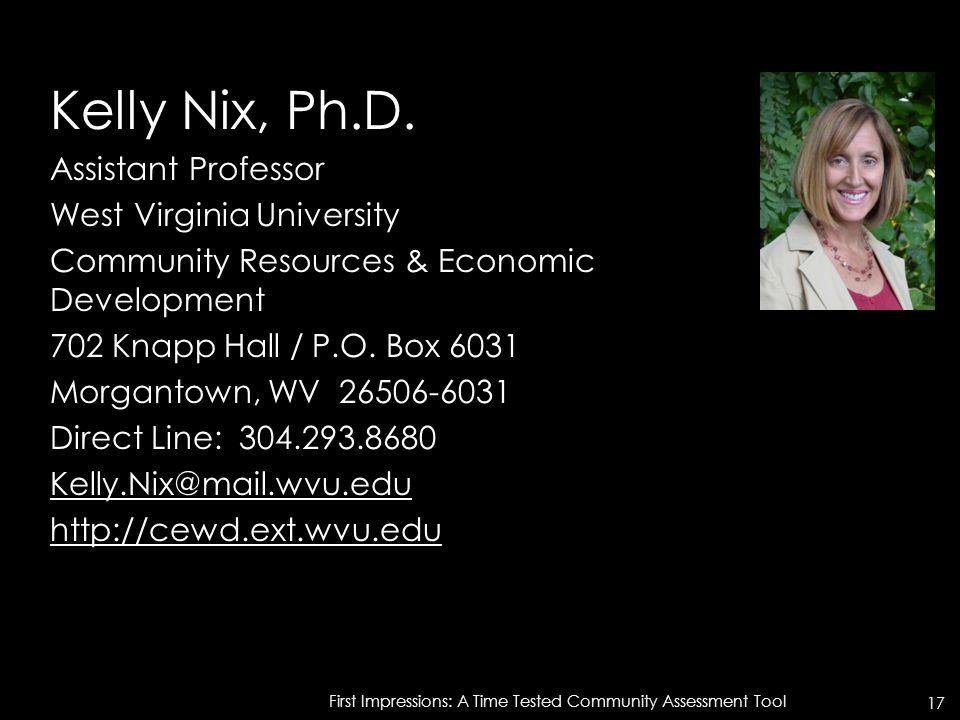Kelly Nix, Ph.D.
