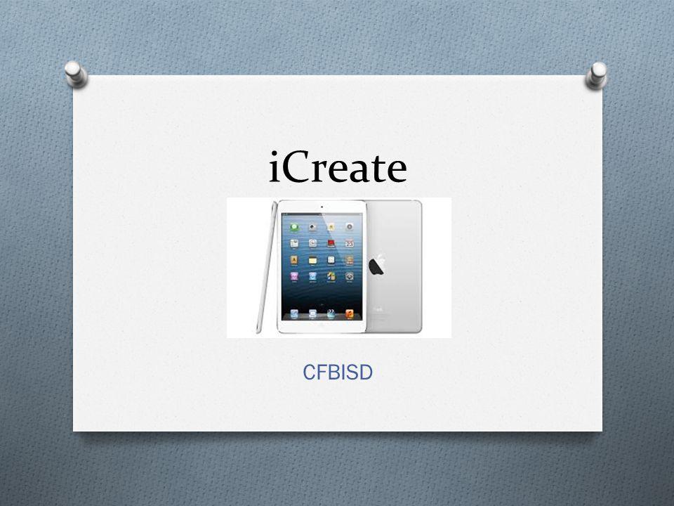 iCreate CFBISD