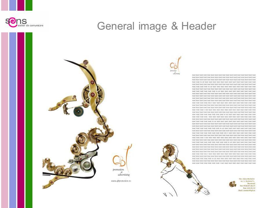 General image & Header