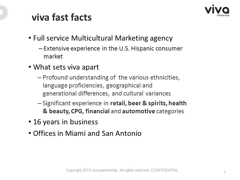 Full service Multicultural Marketing agency – Extensive experience in the U.S.