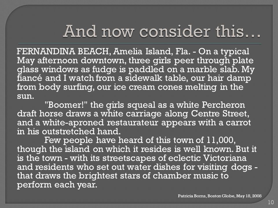 FERNANDINA BEACH, Amelia Island, Fla.