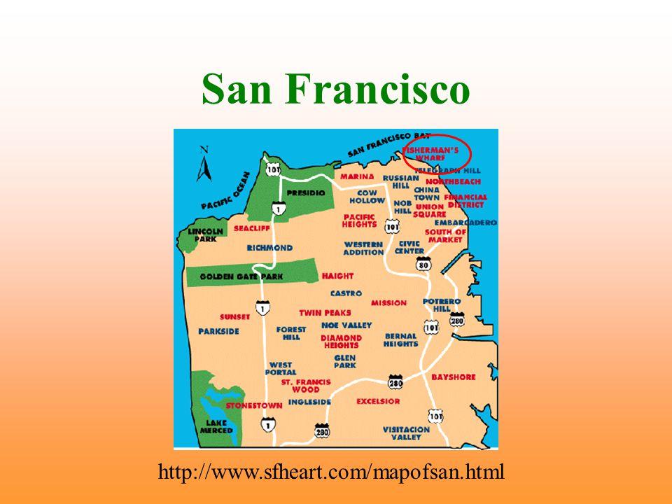 San Francisco http://www.sfheart.com/mapofsan.html