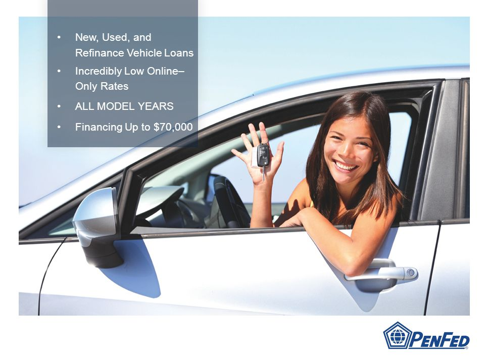 New, Used, and Refinance Vehicle Loans Incredibly Low Online– Only Rates ALL MODEL YEARS Financing Up to $70,000