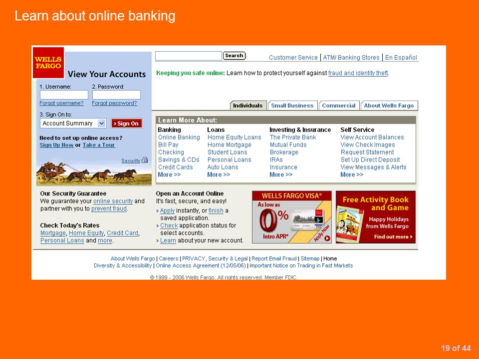 Learn about online banking 19 of 44