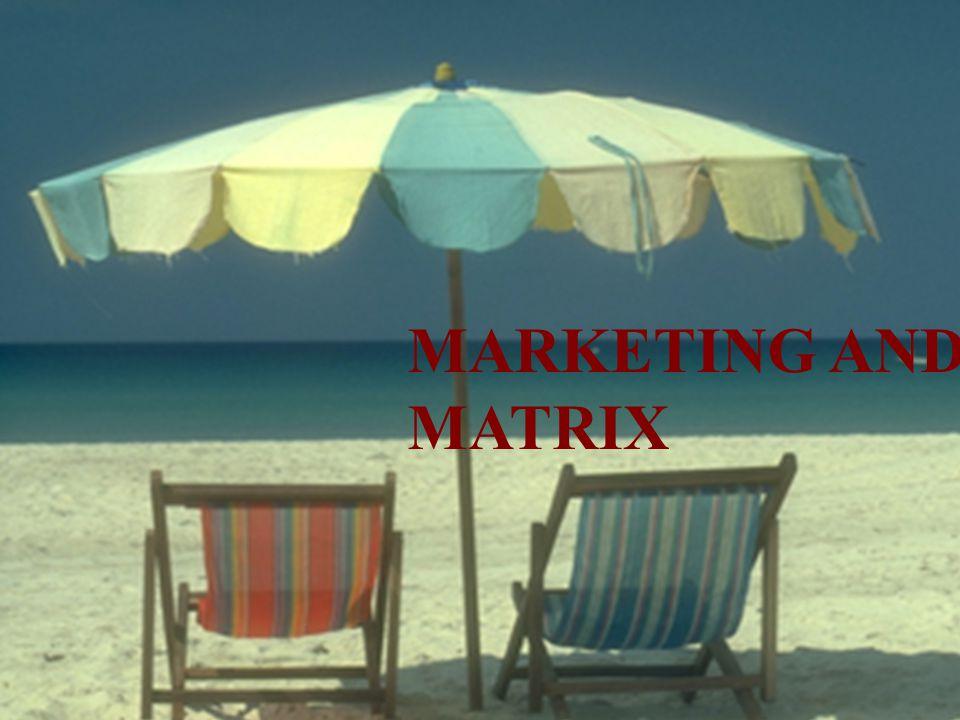 MARKETING AND MATRIX