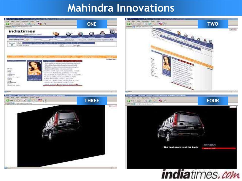 Mahindra Innovations ONETWO THREEFOUR