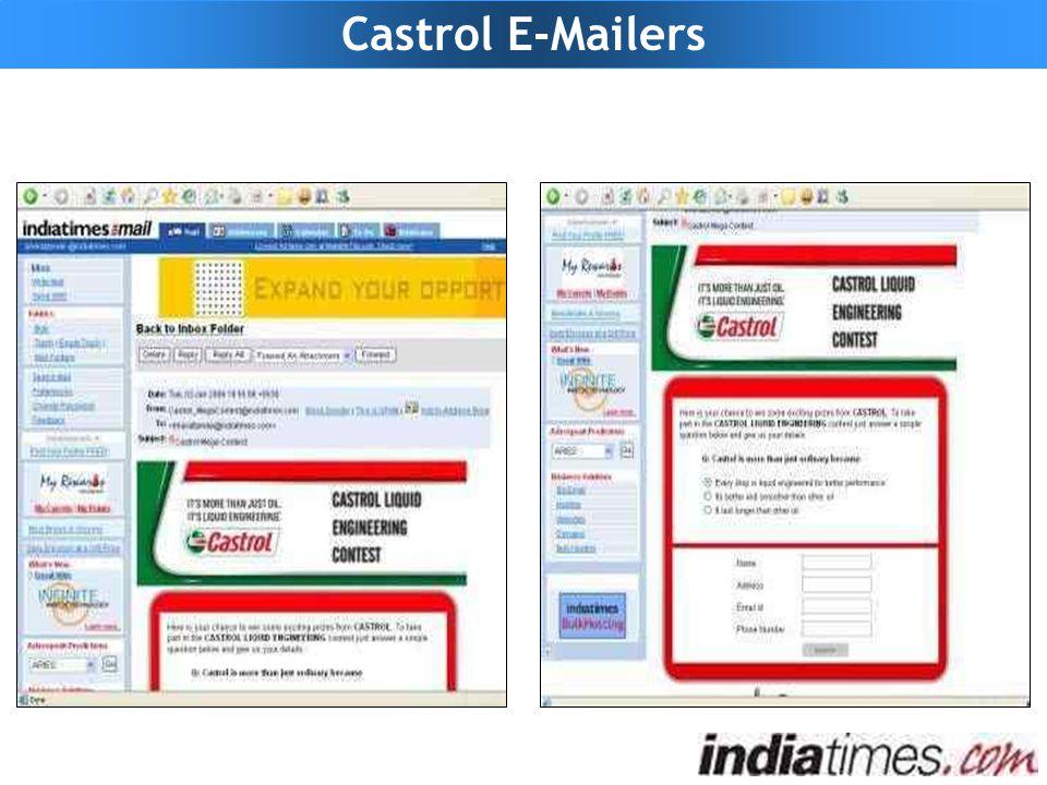 Castrol E-Mailers