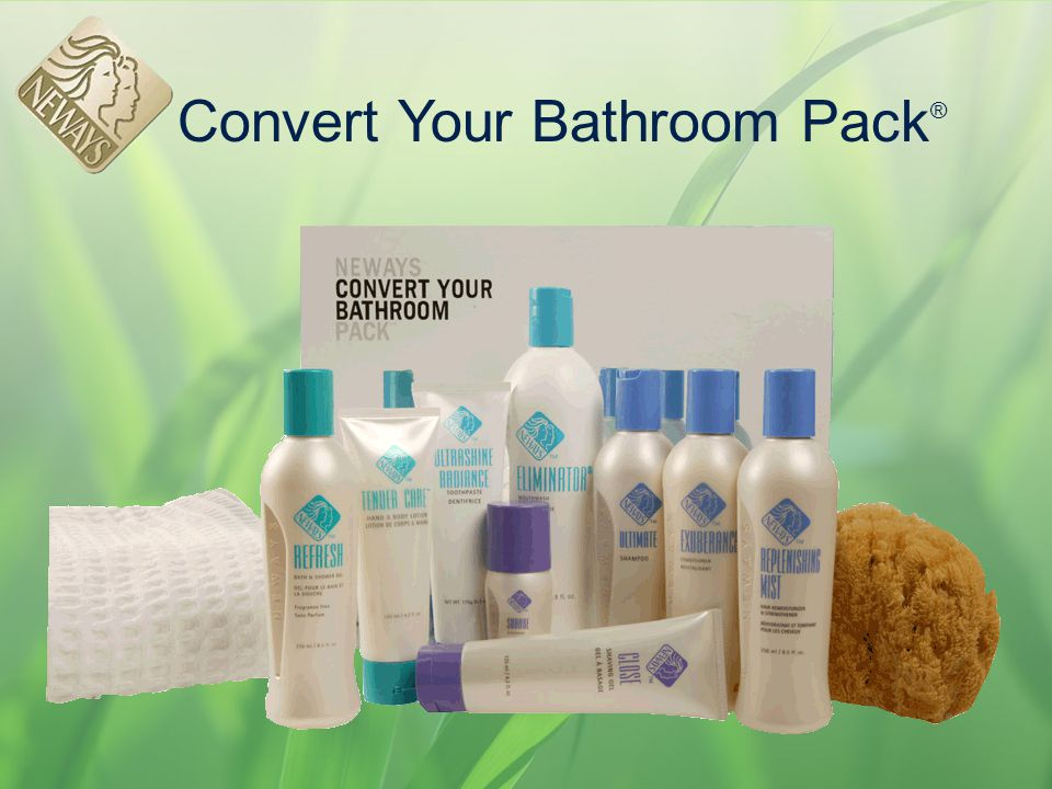 Convert Your Bathroom Pack ®
