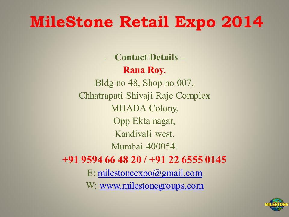 -Contact Details – Rana Roy.
