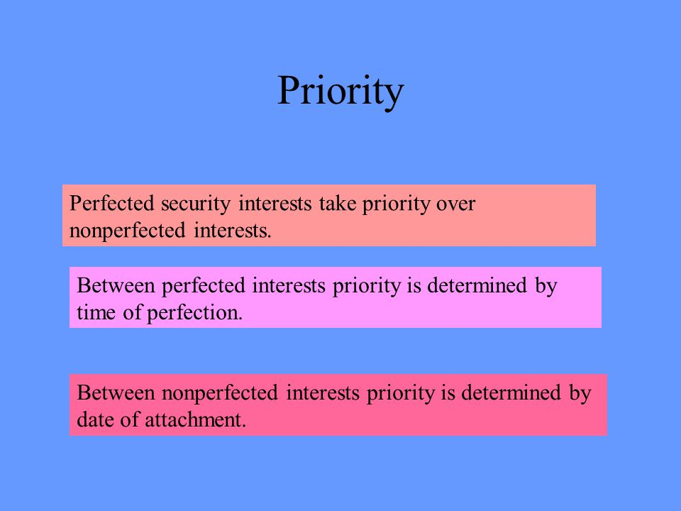 Purchase Money Security Interest A security interest is a purchase money security interest to the extent that it is A.