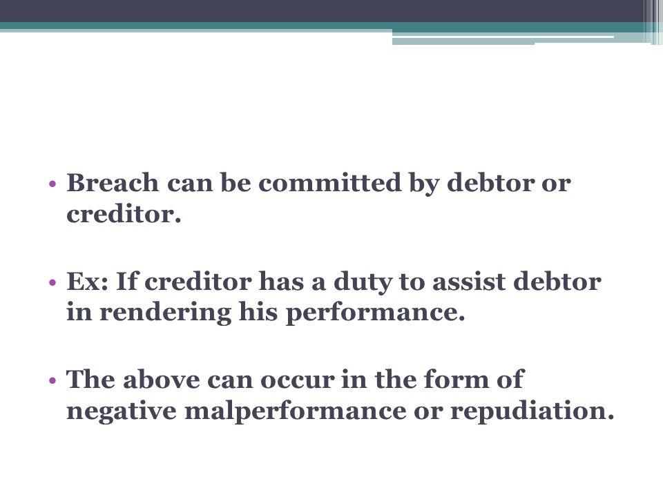 I.Debtor must be in mora.