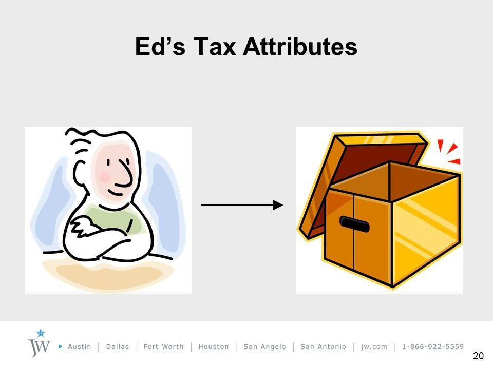 20 Ed's Tax Attributes