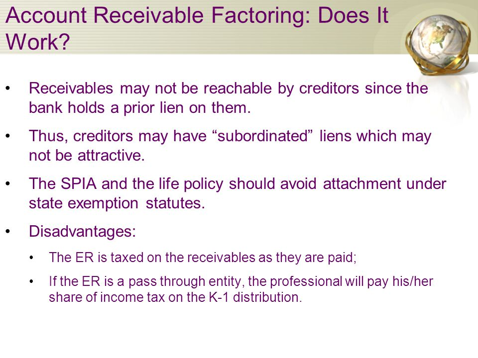Account Receivable Factoring: Does It Work.