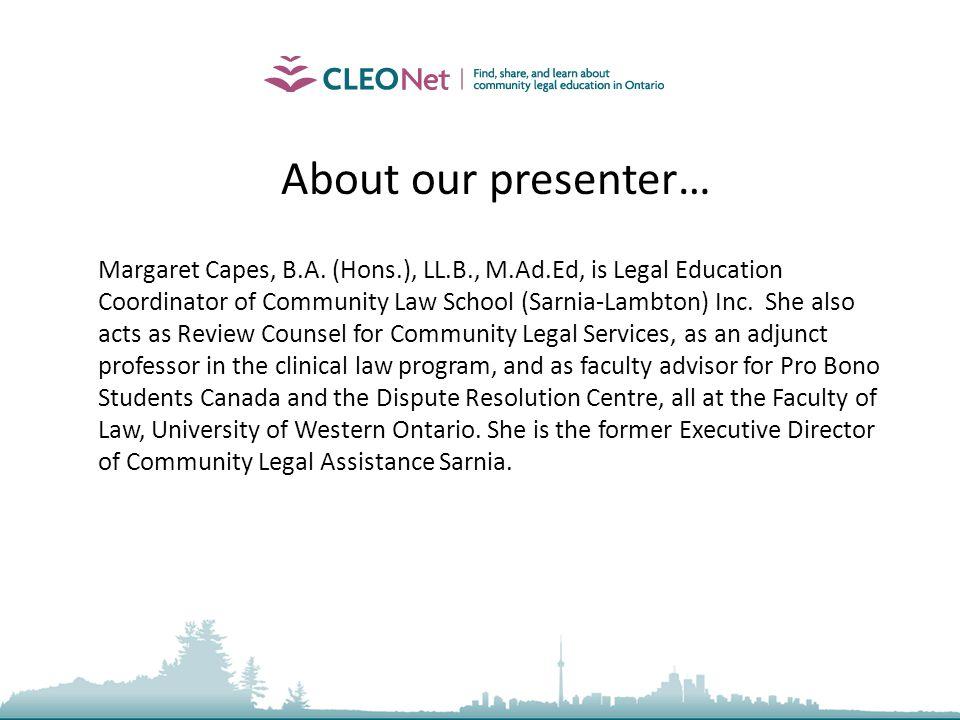2009, Community Law School (Sarnia-Lambton) Inc.13 Prohibited Collection Practices, Cont.
