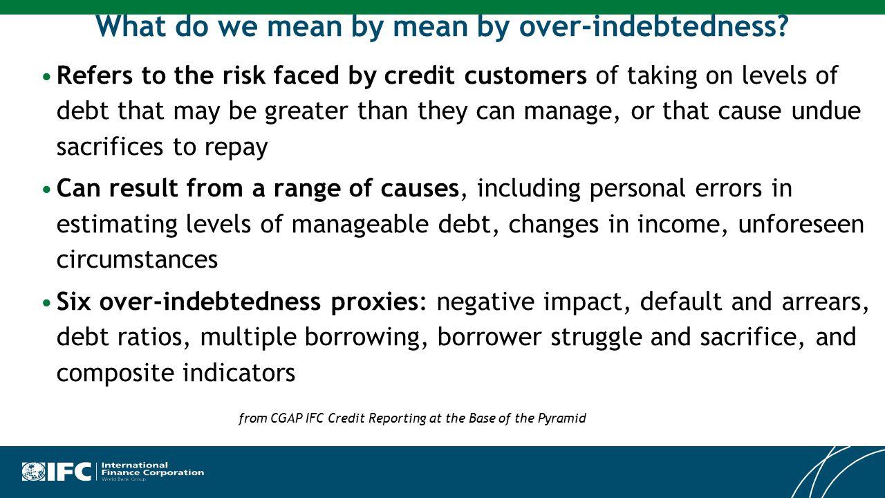 © International Finance Corporation Income Segmentation : Budget Pressures on Income Groups up to KM 1,500 45%52%60%76% 90% Average Roy Pratt – December 2013