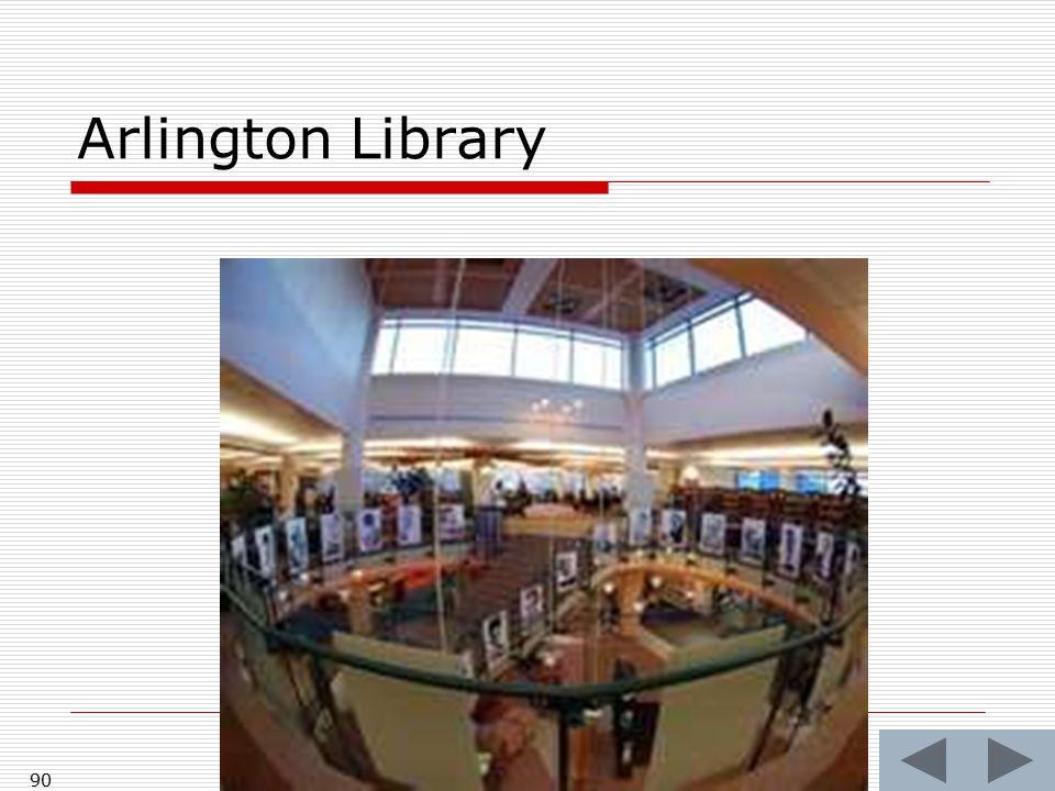 Arlington Library 90
