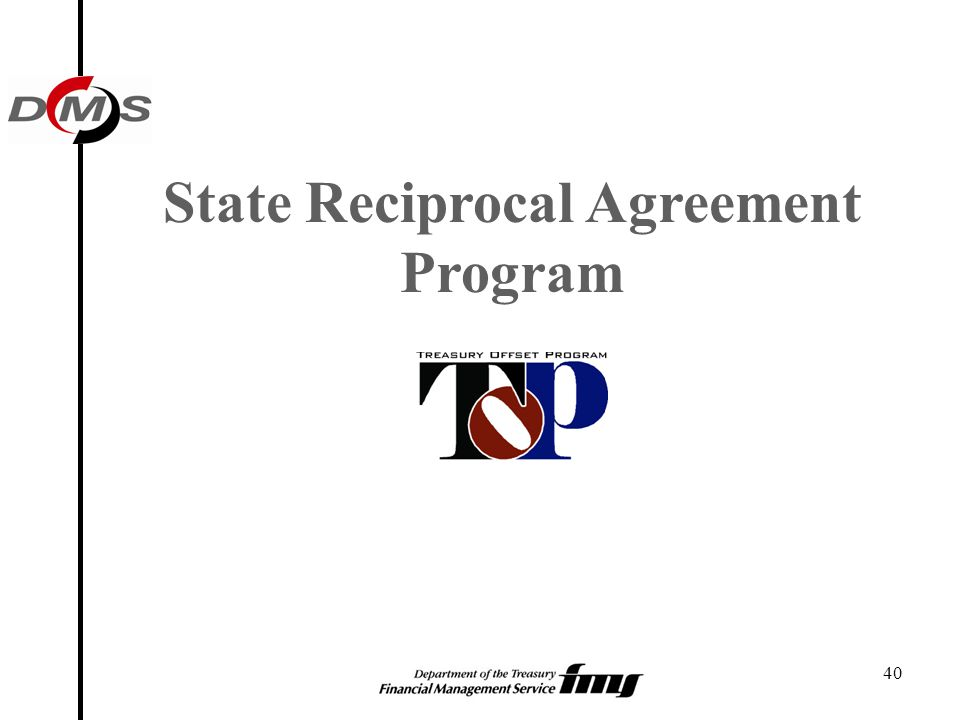 40 State Reciprocal Agreement Program