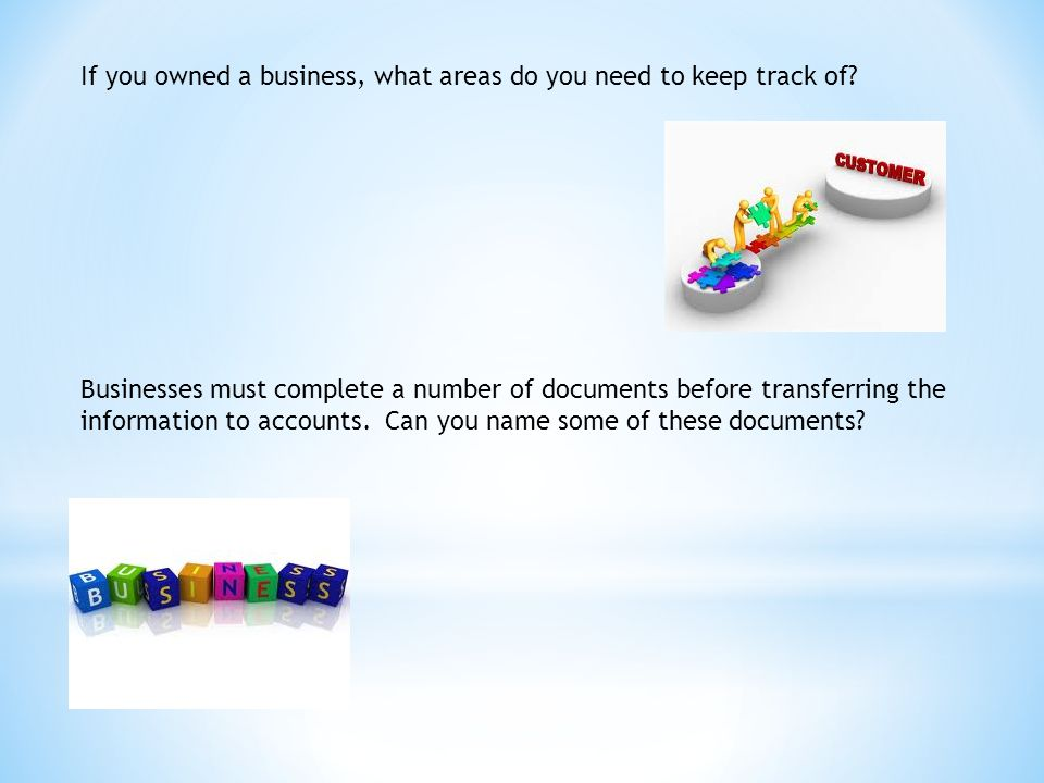 Source Documents What is the purpose of each document.