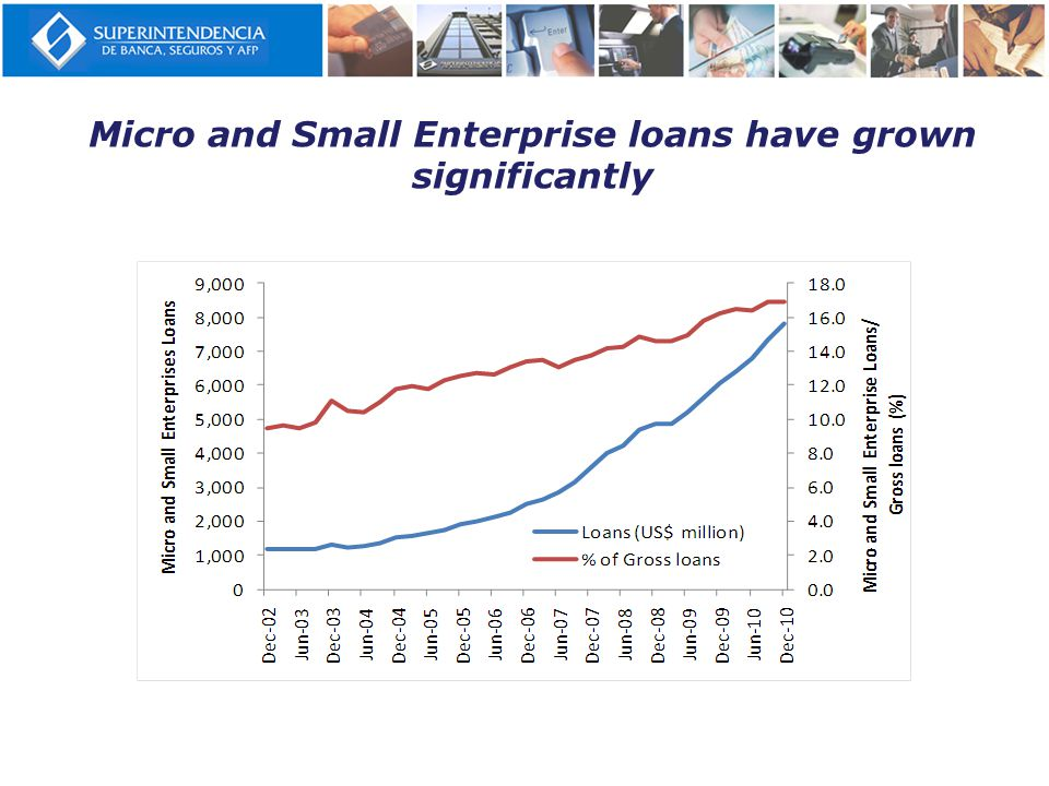 Micro and Small Enterprise loans have grown significantly