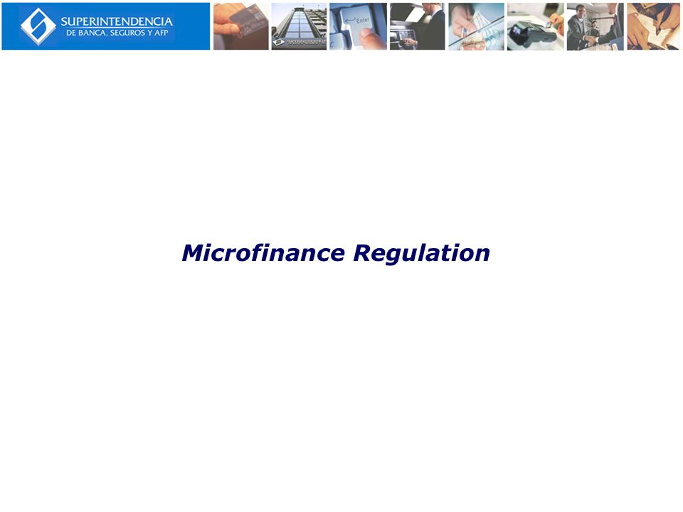 Microfinance Regulation