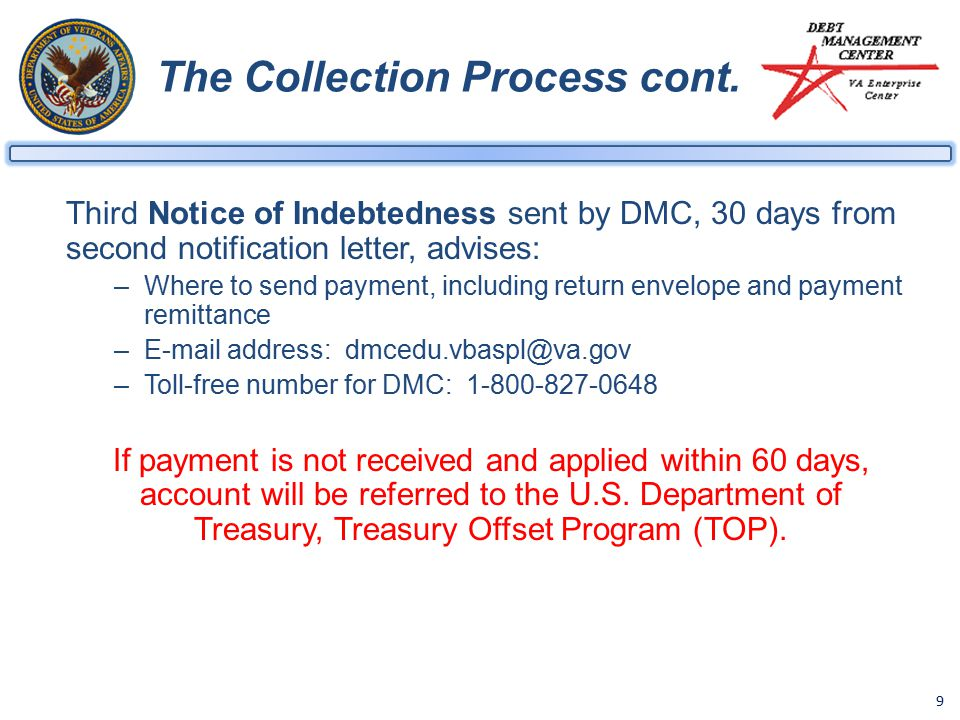 9 The Collection Process cont.